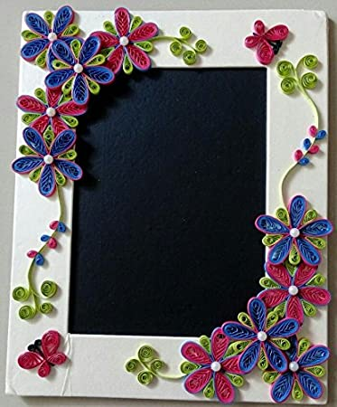 photo frame with paper quilling art rh amazon in
