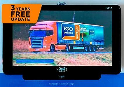 Gps Navigation System Pni L810 7 Inch With Navigation Software Igo