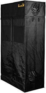 Gorilla Grow Tent GGT24 GGT24 Grow Tent, 2 by 4 by 6-Feet/11-Inch, Black