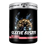 Sleeve Buster | Iron Addicts | Pre-Workout Pump Formula | Formulated By CT Fletcher (30 Servings, MuthaFuckin' Watermelon), 12.87 oz
