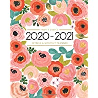 2020-2021 Planner - Academic Weekly & Monthly Planner: July 2020 to June 2021 - To Do List, Goals, and Agenda for School…