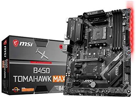 MSI B450 Tomahawk Max, Socket AM4, B450, DDR4, S-ATA 600, ATX, Supporta 1°, 2° e 3° generazione AMD Ryzen