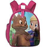 Goldie & Bear Comfy School Bags,Custom Cute Children Shoulder Daypack,Print Backpack For Kids