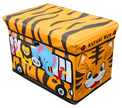 Global Decor Toy-Stor Kid Decor Children's Storage Container/Stool