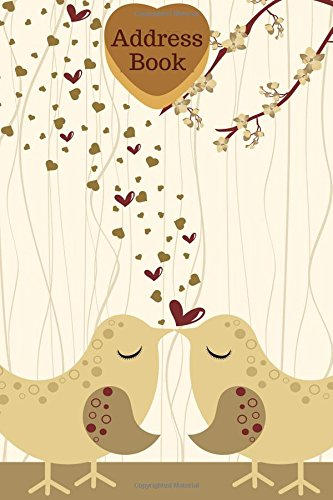 Address Book: Oak tree & Hearts Cover Design Address Logbook, Phone Numbers, Email and Birthday Information, Alphabetical Addresses Organiser Journal, ... Girls, 6x9 (Floral Address Books) (Volume 36)