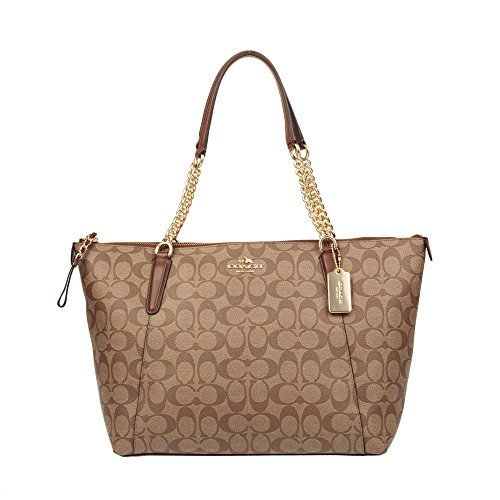 Coach Women's Hand shoulder bag F23526 (Khaki brown) by NOT