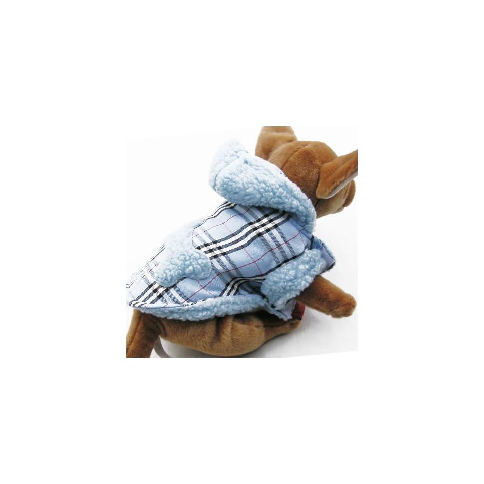 Pink Plain Hoodie Jacket pet dog clothes APPAREL Chihuahua Teacups Miniature M