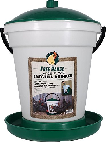 Harris Farms Poultry Drinker EZ Fill, 6.25 gallon