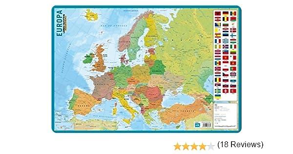 Grupo Erik Editores Lamina Educativa Mapa De Europa: Amazon.es ...