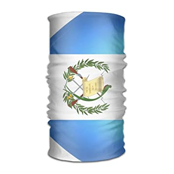 Pengyong Corazón de Guatemala Bandera Unisex Moda Secado Rápido de Microfibra Tocado Exterior Magic Bufanda Cuello