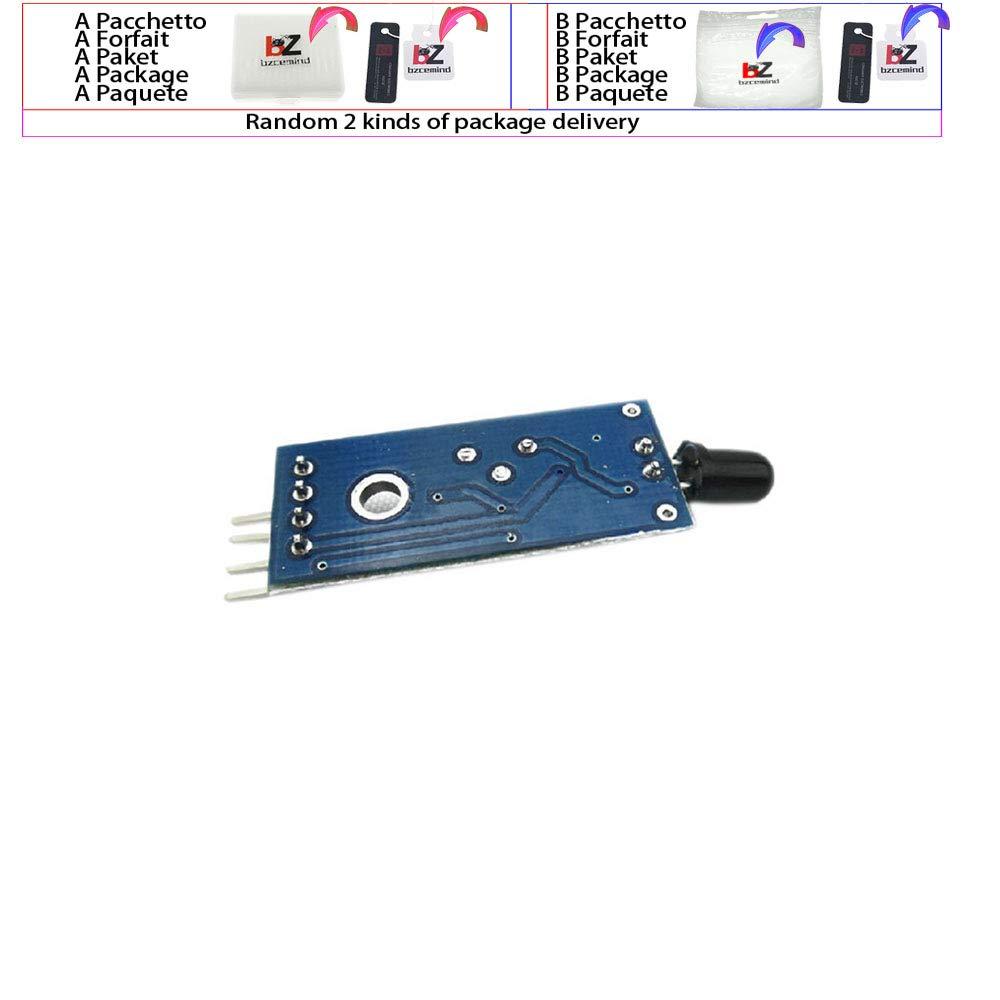 Glyduino Módulo de Sensor de detección de Llama de 4 Pines ...