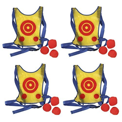 (High Bounce Set of 4 Water Proof Active Dodge Tag)