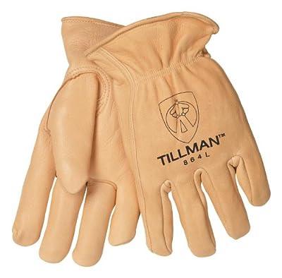 Tillman 864 Premium Top Grain Deerskin Drivers Gloves, Unlined, Large