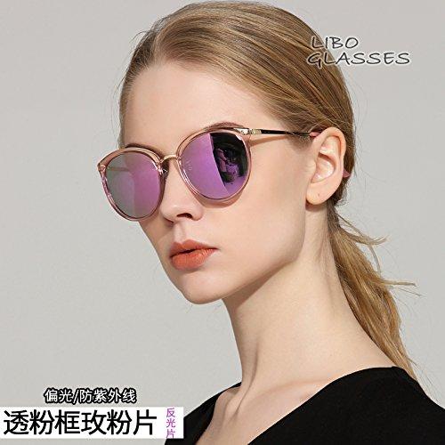 Gafas luz Señoras Lampara De UV Sol Gafas Sol Polarizadas de Polarizada De Lampara Moda Xue De Anti zhenghao polarizada De Gafas Luz qwCRBB