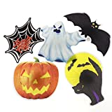 Halloween Light Up Ghost LED Haptor Hanging Decoration Prop Spooky Scary Party