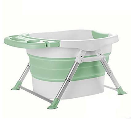 095950b04f4b Amazon.com: LJQ bathtub Folding BathtubHousehold Portable ...