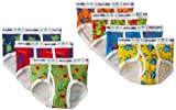 Fruit of the Loom Days of the Week  Brief, Assorted Prints, 2T/3T(Pack of 7)