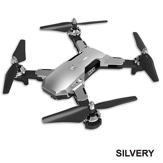 Faironly CS-7 - Dron cuadricóptero teledirigido (cámara HD, WiFi ...
