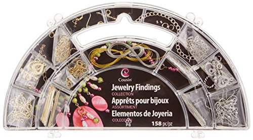 Price comparison product image Gold and Silver Complete Jewelry Findings Kit