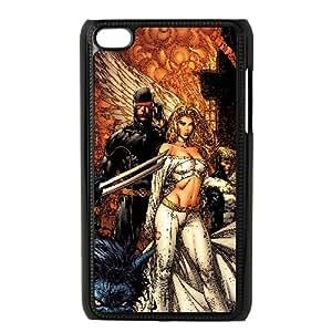 X Men Comic0 iPod Touch 4 Case Black TPU Phone Case SV_192477