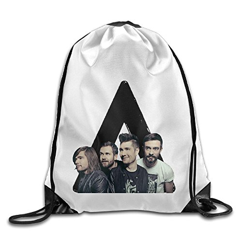 Bekey BASTILLE Misic Band Drawstring Backpack Sport Bag For Men & Women For Home Travel Storage Use Gym (Swiss Army Travel Blazer)