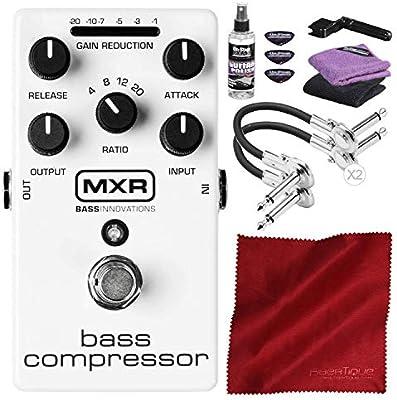 Dunlop MXR M87 Pedal de efectos de compresor de graves con kit de ...
