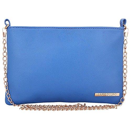 Lapis O Lupo Bläuliche Damen Schultertasche Sky Blue Multifunktionales Taschen-Design