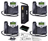 XBlue XB2500-04 X-25 4-VoIP Phone Bundle