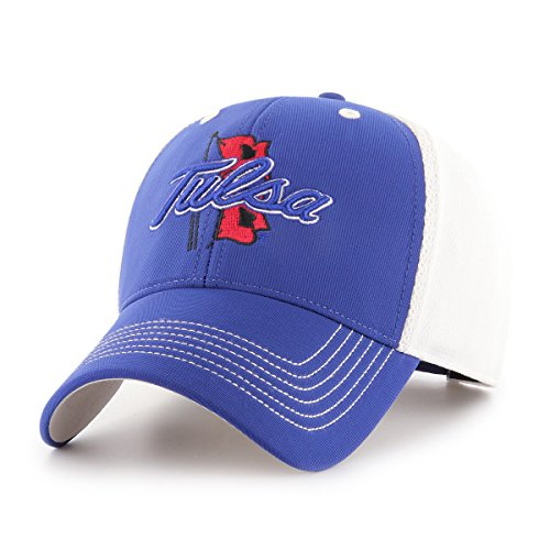 (NCAA Tulsa Golden Hurricane Sling OTS All-Star MVP Adjustable Hat, Royal, One Size)