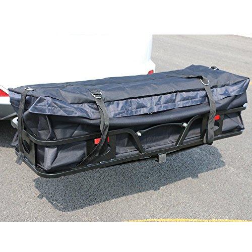 Thxbyebye Water-resistant Oxford Fabric Cargo Carrier Bag Black by Thxbyebye (Image #1)