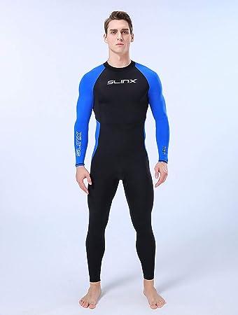 Amazon.com: BERRYHOT - Traje de buceo para hombre, 0.118 in ...