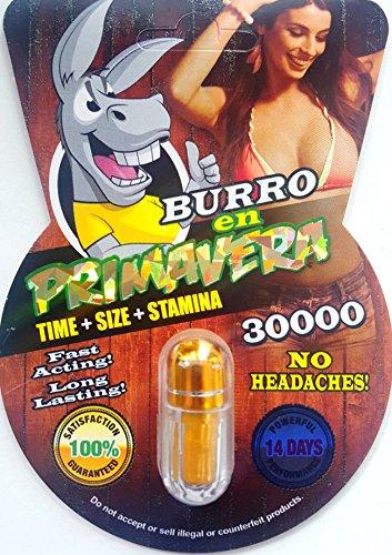 NEW BURRO EN PRIMAVERA 30000 All Natural Male Enhancement Sex Pills (30)