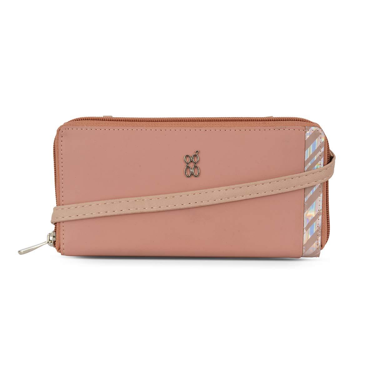 Baggit Spring-Summer 2020 Faux Leather Women's Ziparound Wallet