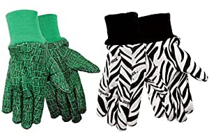 Zoohandsyouth gardening gloves cotton jersey for Gardening gloves amazon