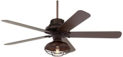 industrial outdoor ceiling fan with light 60quot industrial forge franklin park outdoor ceiling fan 60