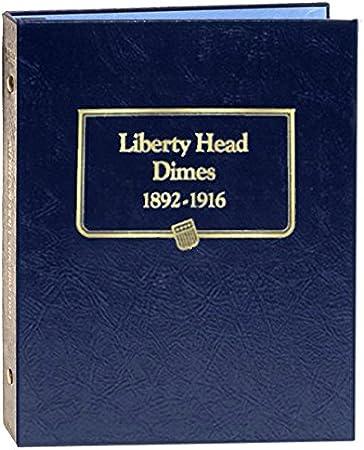 3 page Whitman Classic Coin Album #9118 Mercury Dime 1916-1945