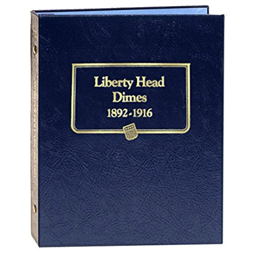 Whitman US Liberty Head (Barber) Dime Coin Album 1892-1916 #9117 ()