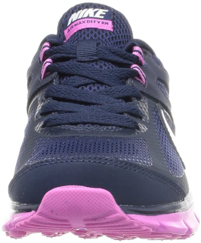 Nike Women's Air Max Defy RN Obsidian/Sail/Red Violet Running Shoe 6.5 Women US