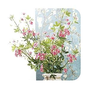 Artificial Fowers Silk Flowers Artificial Flower Mini Malus Spectabilis Rose for Wedding Home Decoration Flower Bouquet Flores Artificiales P15 58