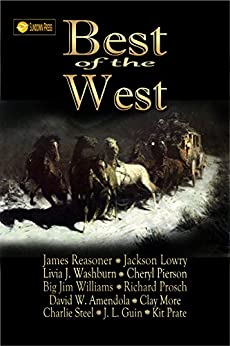Best of the West by [Reasoner, James, Prate, Kit, Lowry, Jackson, Washburn, Livia J., Prosch, Richard, Williams, Big Jim, More, Clay, Guin, J. L., Amendola, David W., Steel, Charlie]