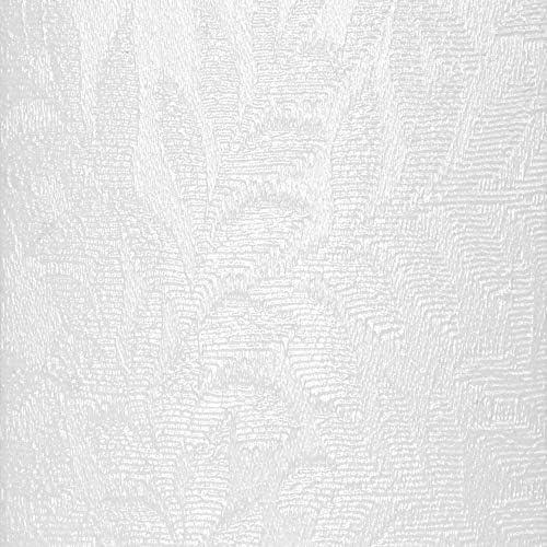 DALIX Rainforest White Vertical Blind Texture Slats Sliding Door 94.5 Qty 5 Pack
