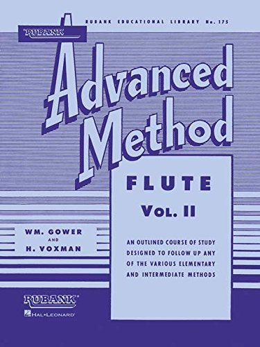 Rubank Advanced Method - Flute Vol. 2 (Rubank Educational Library) ()