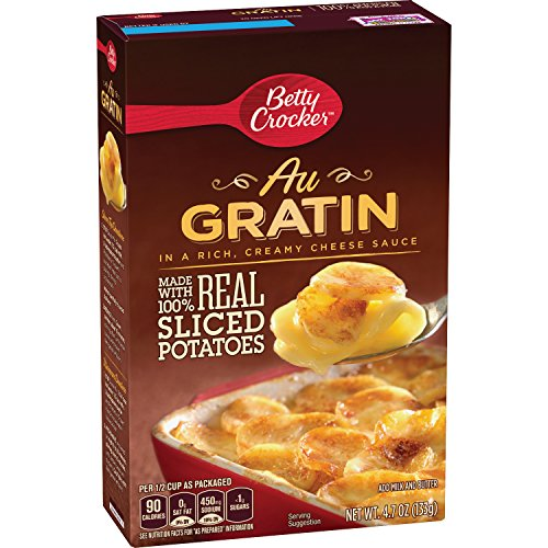 Betty Crocker Sauce - Betty Crocker Au Gratin Potatoes 4.7 oz Box (pack of 6)