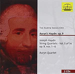The Auryn Series XXX : Auryn's Haydn: op. 9