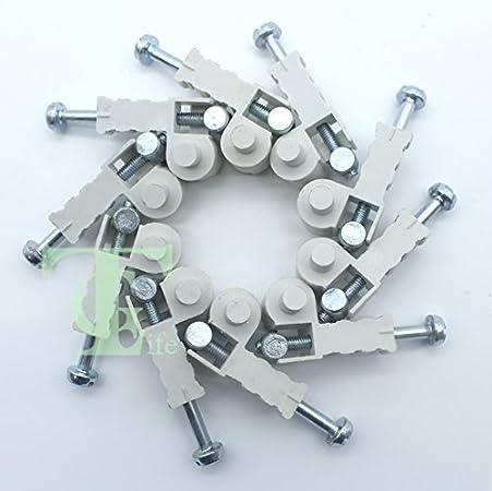 Tornillo tensor de ajuste de cadena, 10 unidades, para motosierra STIHL MS250 MS230 MS210 MS180 MS170 025 023 021 018 017 11206641500