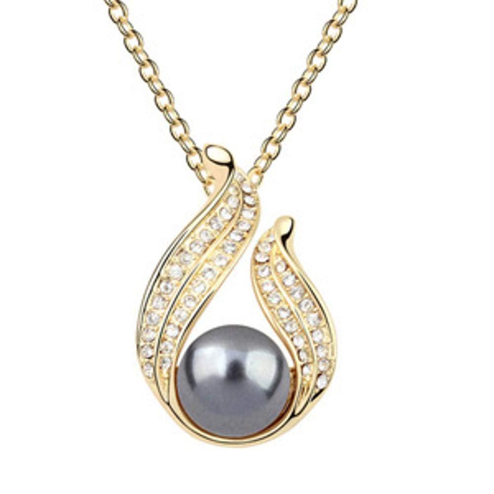 Weiduoliヨーロッパとアメリカのファッション天然淡水真珠のネックレスレディギフト   B07MNBX8Z3