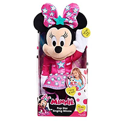 Minnie Mouse Minnie Happy Helpers Singing Light-Up Plush: Toys & Games