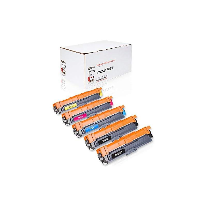 YoYoInk 5 Pack Compatible Toner Cartridg