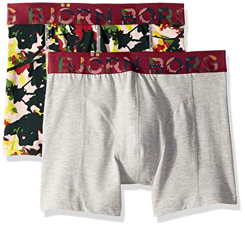 Peach Branch - Bjorn Borg Men's Shorts Bb Branch 2p, Peach Whip, S