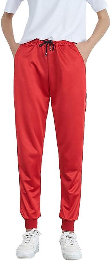 New Women Mid-Waist Casual Striped Jogger Sports Pants Harem Pants Long Trousers